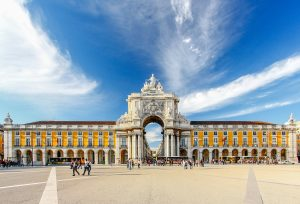 Rossio emblematic location on Lisbon, Portugal. The Best Investor Visa country for investment.
